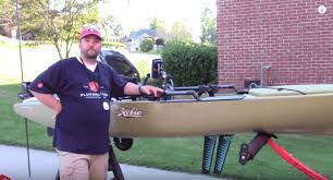 T Bone Bed Extender by Flukemaster U0027s Hobie Pro Angler 14 Kayak Setup Video