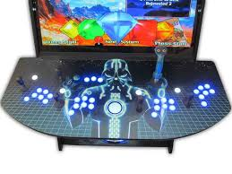 Build Arcade Cabinet With Pc by 4 Player Mame Cabinet Arcade Cabinet Pinterest