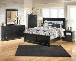 Rooms to go bedroom furniture with elegant black bed sets and