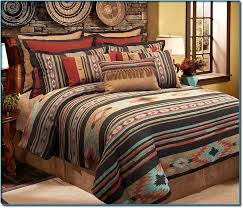 Ruff Hewn Bedding by This Attractive Four Piece Comforter Set Features A Beautiful