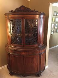 Henredon China Cabinet Ebay by Mechanics Furniture Company Rockford Il Antique Hutch This Hutch