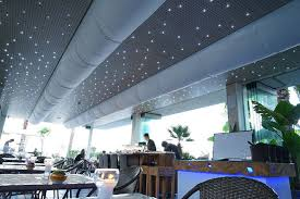 wooden suspended ceiling tile acoustic for clean rooms
