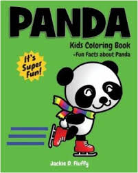Panda Kids Coloring Book Fun Facts About Children Activity For Boys