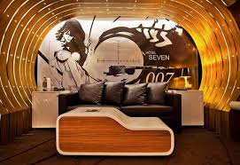 seven hotel bond suite design luxury interieur