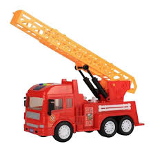 100 Fire Trucks Toys Large Construction Vehicles With Music And Light For Child