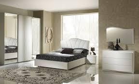 elegantes schlafzimmer cornelia in weiß modern