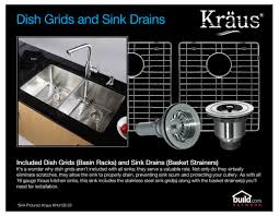 Stainless Steel Sink Grid Without Hole by Faucet Com Khu102 33 Kpf1612 Ksd30ch In Stainless Steel Chrome