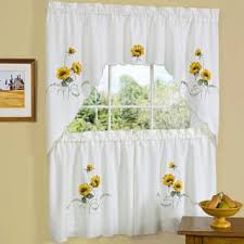 Yellow And Grey Bathroom Window Curtains by Curtain Tiers For Less Overstock Com
