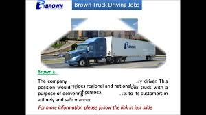 Brown Truck Driving Jobs - YouTube Atlanta To Play Key Role As Amazon Takes On Ups Fedex With New Local Truck Driving Jobs In Austell Ga Cdl Best Resource Keenesburg Co School Atlanta Trucking Insurance Category Archives Georgia Accident Image Kusaboshicom Alphabets Waymo Is Entering The Selfdriving Trucks Race Its Unfi Careers Companies High Paying News Driver America