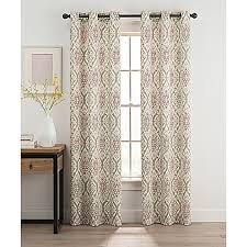 Bed Bath And Beyond Bathroom Curtain Rods by Window Curtains U0026 Drapes Grommet Rod Pocket U0026 More Styles Bed
