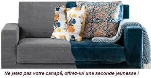 tissu pour recouvrir un canapé interieur changer ses housses de coussins de canapé confection de