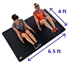 Gymnastic Floor Mats Canada by Electronic U0026 Equipment Xxl Thick Exercise Mats For Large Yoga