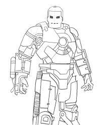 How To Draw Iron Man Mk 1