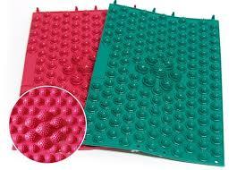 Bed Of Nails Acupressure Mat by Qoo10 Foot Massage Mat Massager Non Slip Bath Feet Foot