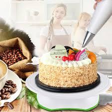 2019 backen werkzeug kunststoff form rotierenden kuchen platte nicht slip runde kuchen stehen kuchen dekorieren rotary tisch küche