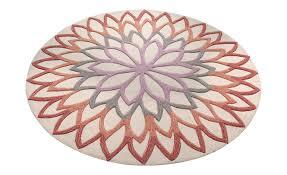 tapis esprit lotus flower motif fleurs géantes collection tapis