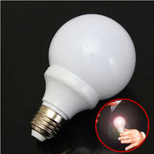 Magic Light Bulb Magnetic Control Trick Costume Joke Mouth LED