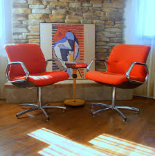 Knoll Pollock Chair Vintage by Steelcase Retro Chairs Home Chair Decoration