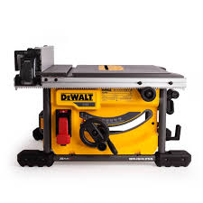 DeWalt DCS7485T2GB 54V XR Flexvolt 210mm Table Saw With 2x 60Ah