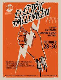 Halloween Activities In Nj by Electric Halloween Festival Oct 28 30 2016 U2014 Jersey Indie