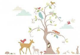stickers chambre bébé arbre 76 stickers pour décorer la chambre de bébé