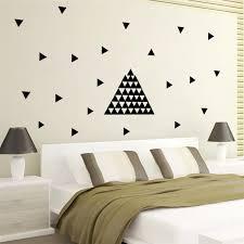 großhandel diy 154 schwarzer pfeil nach hause schlafzimmer abziehbilder wand aufkleber kindergarten kinder zimmer dekoration kreatives design tv wand
