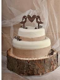 Rustic Cake Topper Wood Monogram Wedding Toppers