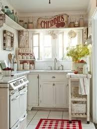 I Love This Shabby Chic Kitchen