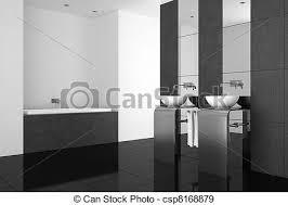 badezimmer modern schwarz boden badezimmerboden