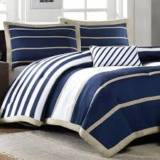 Mizone Ashton Full Queen forter Set Navy