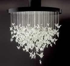 Butterfly Chandelier Cool DIY Able Lamp Crafts DIYcraftyCrafty IdeasDIY Projects To Try