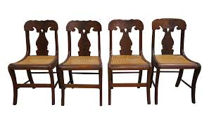 Mid 19th Century Antique Crotch Walnut Federal Empire Cane Seat Dining Side  Chairs- Set Of 4 Empire Ding Chair Duncan Phyfe Room Chairs 1 Style Ding Chair From Our Exclusive Empire Collection Pr Mid 19th C Gondola Chairs Signoret Amazoncom Inland Fniture Madalena 7 Pc Formal Outdoor Wicker Bistro Cork Empire Classic Fniture Side Espresso Set Of 2 A Set Eight Maison Jansen Giltbronze Mounted Mahogany 1949 45 Masterpiece Collection