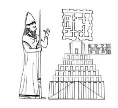 Drawing King Nebuchadnezzar Colouring Page