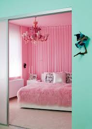 Eclectic Bedroom How To Decorate Girly Adult Princess Theme Teenagers Pink Bedding Curtains Fur