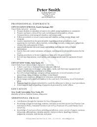 Pleasing Resume Sample For Admin Clerk Your General Office