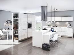 cuisine et maison une transition idéale entre la cuisine et le salon décoration