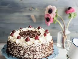 kirsch sahne torte schokolade vegetarisch