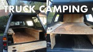 Truck Camping: The Ultimate Guide To Outfitting And Living In A ... Side Shelve For Storage Truck Camping Ideas Pinterest Fiftytens Threepiece Truck Back Hauls Cargo And Camps In The F150 Camping Setup Convert Your Into A Camper 6 Steps With Pictures Canoe On Wcap Thule Tracker Ii Roof Rack System S Trailer The Lweight Ptop Revolution Gearjunkie Life Of Digital Nomad Best 25 Bed Ideas On Buy Luxury Truck Cap Camping October 2012 30 For Thirty Diy