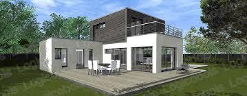 maison en cube moderne modèle de maison cubique melbourne 2 logicobois maisons