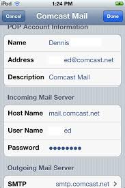 I have a new Iphone and when I try to sync my cast email