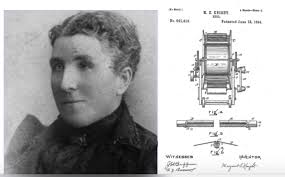 Margaret Knight 1838 To 1914 American Inventor With 87 Patents Her Credit I Wonder How Many Male Fishermen Realize They Have A Woman Thank For