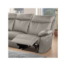 canapé d angle 7 places cuir canapé d angle relax 7 places cuir vyctoire univers des assises