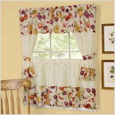 French Lace Curtains For Windows Curtain Ideas Kitchen White Cafe With Regard To Cottage Style Plans