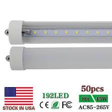 cnsunway lighting 8ft led light t8 fa8 single pin 2 4m 2400mm