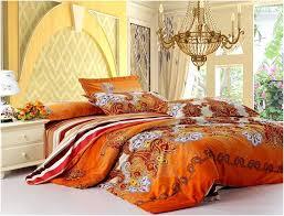 Black And Orange forter Set