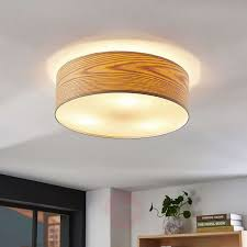 100 Wooden Ceiling Dominic Wooden Ceiling Light With A Round Shape