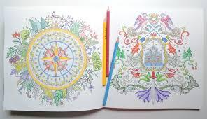 Inside The Enchanted Garden Colouring Book