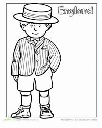 Traditional Clothing Coloring Pages