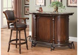 Your Cost Furniture Bar Unit & Bar Stool