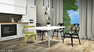 Captain Chairs For Dining Room Table by My Sims 4 Blog Gosik Skarto Dining Set Awesims Captain Chairs